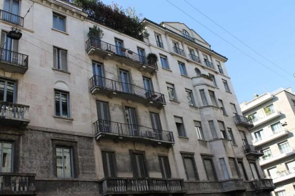 Appartamento in affitto a Milano, Moscova, 160 mq