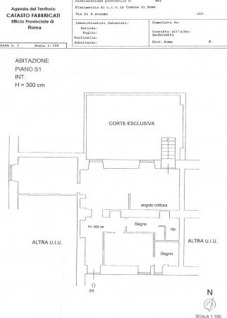 Appartamento in vendita a Roma, Celio, Con giardino, 116 mq - Foto 2