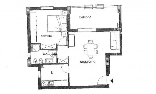 Appartamento in vendita a Roma, Colle Degli Abeti - Ponte Di Nona, Con giardino, 50 mq - Foto 2