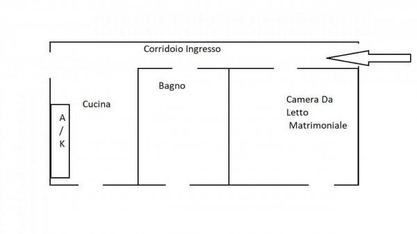 Appartamento in vendita a Roma, Statuario, Arredato, con giardino, 45 mq - Foto 3