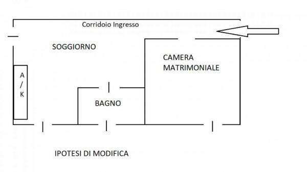 Appartamento in vendita a Roma, Statuario, Arredato, con giardino, 45 mq - Foto 2