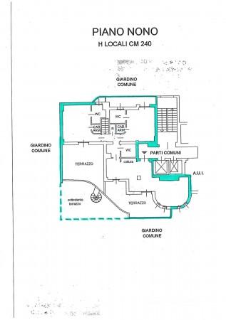 Appartamento in vendita a Milano, Ripamonti, Con giardino, 236 mq - Foto 7