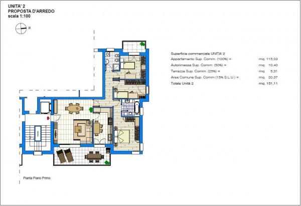 Appartamento in vendita a Albignasego, Con giardino, 151 mq - Foto 5