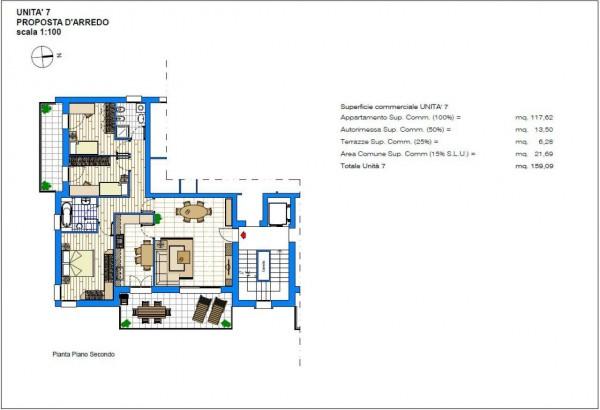 Appartamento in vendita a Albignasego, Con giardino, 159 mq
