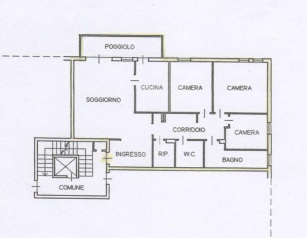 Appartamento in vendita a Padova, Arredato, con giardino, 145 mq - Foto 3