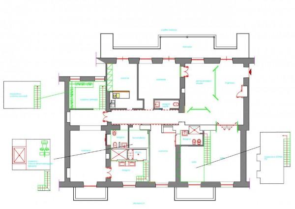 Appartamento in affitto a Torino, Centro, Con giardino, 330 mq - Foto 2