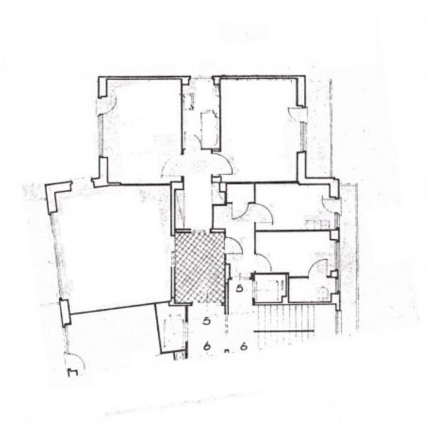 Appartamento in vendita a Roma, Corso Di Francia, Con giardino, 160 mq - Foto 4