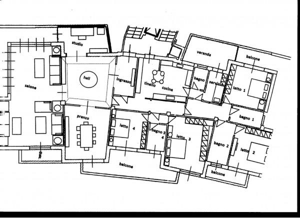 Appartamento in vendita a Roma, Fleming, 235 mq - Foto 2