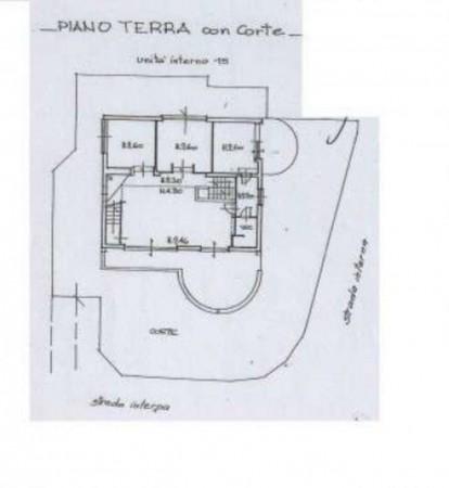 Villa in vendita a Roma, Giustiniana, Con giardino, 280 mq - Foto 3