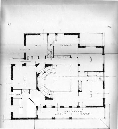 Villa in vendita a Roma, Camilluccia, Con giardino, 1830 mq - Foto 4