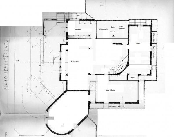 Villa in vendita a Roma, Camilluccia, Con giardino, 1830 mq - Foto 3
