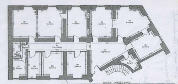 Appartamento in vendita a Roma, Prati, 210 mq - Foto 5