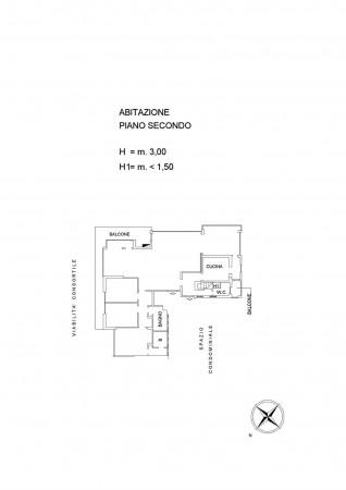 Appartamento in vendita a Roma, Camilluccia, Con giardino, 270 mq - Foto 3
