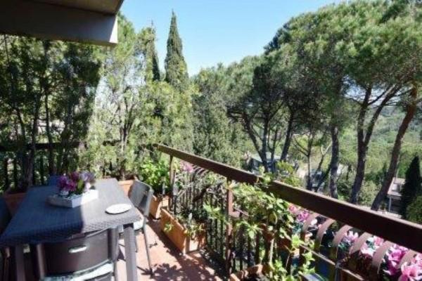 Appartamento in vendita a Roma, Via Della Camilluccia, Con giardino, 185 mq - Foto 2
