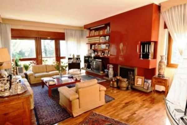 Appartamento in vendita a Roma, Via Della Camilluccia, Con giardino, 185 mq