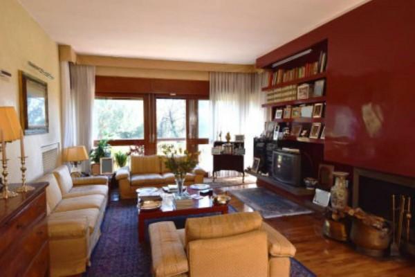 Appartamento in vendita a Roma, Via Della Camilluccia, Con giardino, 180 mq - Foto 4