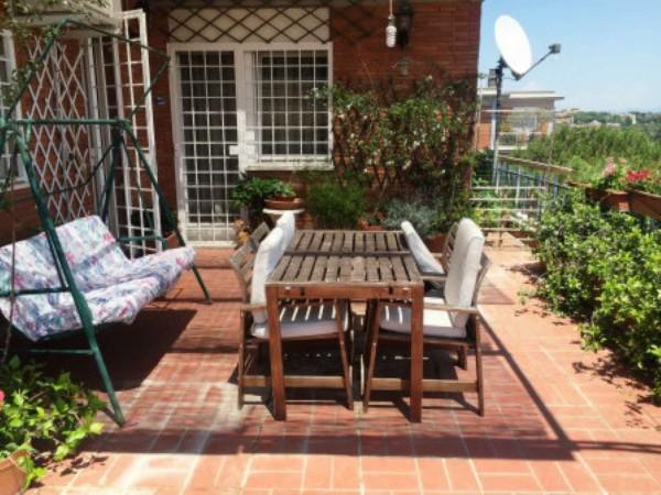 Appartamento in vendita a Roma, Pineta Sacchetti, Con giardino, 176 mq - Foto 14
