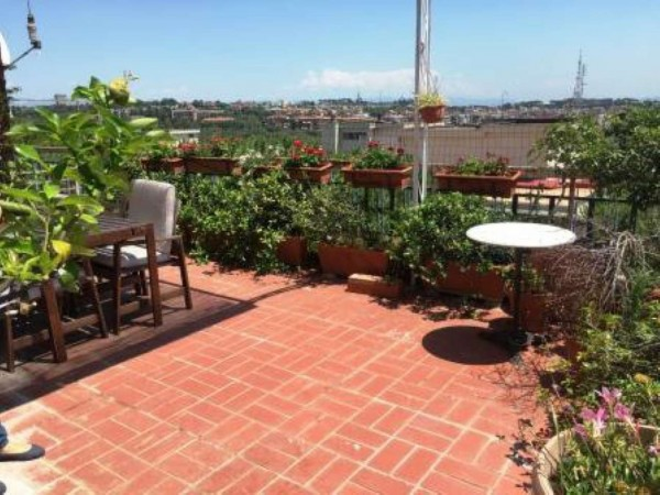 Appartamento in vendita a Roma, Pineta Sacchetti, Con giardino, 176 mq - Foto 9