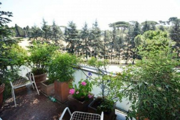 Appartamento in vendita a Roma, Monte Mario, Con giardino, 152 mq
