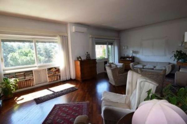 Appartamento in vendita a Roma, Monte Mario, Con giardino, 152 mq - Foto 15