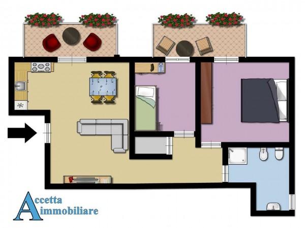 Appartamento in vendita a Taranto, Residenziale, Con giardino, 76 mq - Foto 2