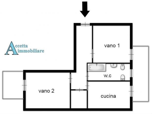 Appartamento in vendita a Taranto, Semicentrale, 75 mq - Foto 2