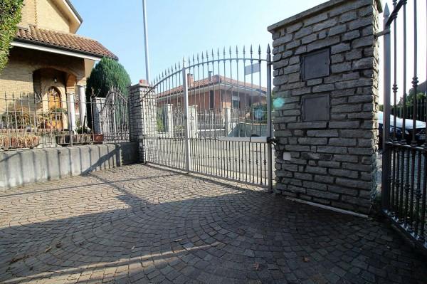 Villa in vendita a Alpignano, Centro, Con giardino, 364 mq - Foto 4
