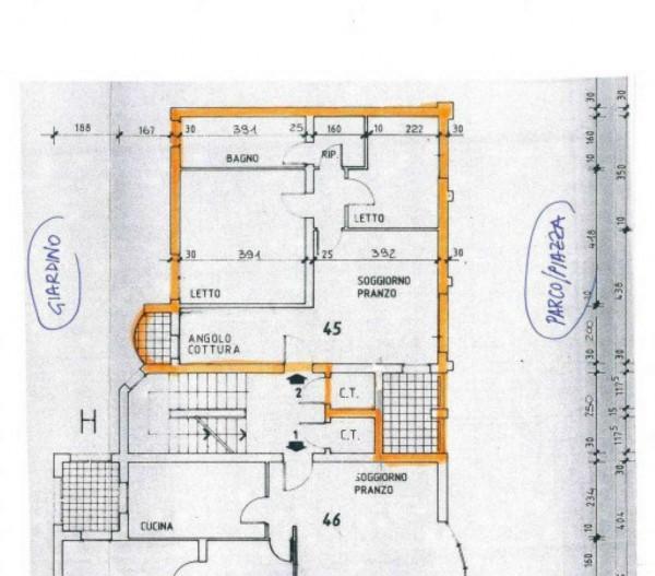 Appartamento in vendita a Modena, Torrenova, Con giardino, 84 mq - Foto 2