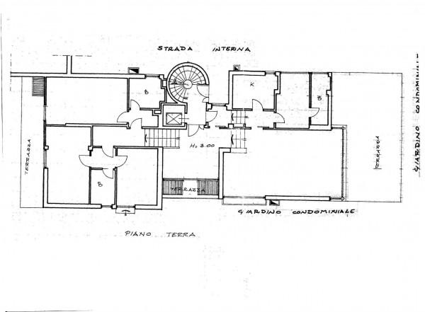 Appartamento in vendita a Roma, Camilluccia, Con giardino, 180 mq - Foto 2