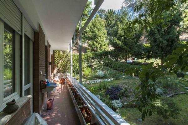 Appartamento in vendita a Torino, Corso Casale, Con giardino, 130 mq - Foto 8