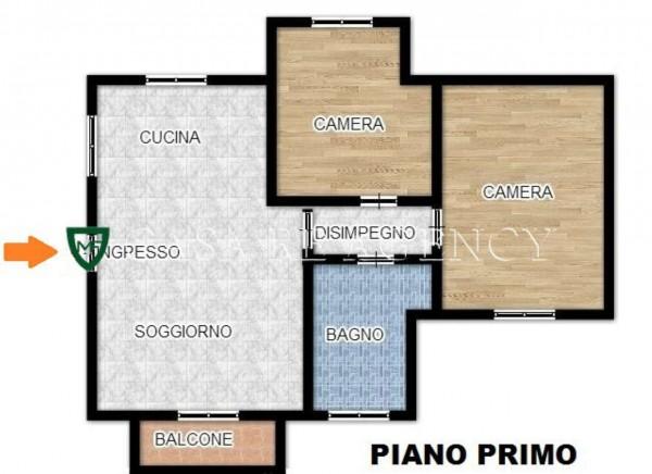 Appartamento in vendita a Induno Olona, Con giardino, 107 mq - Foto 4