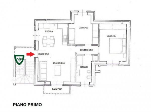 Appartamento in vendita a Induno Olona, Con giardino, 107 mq - Foto 3