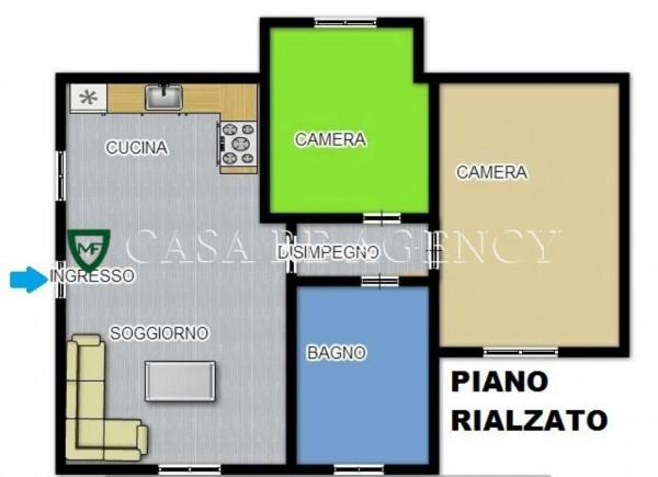 Appartamento in vendita a Induno Olona, Con giardino, 108 mq - Foto 4