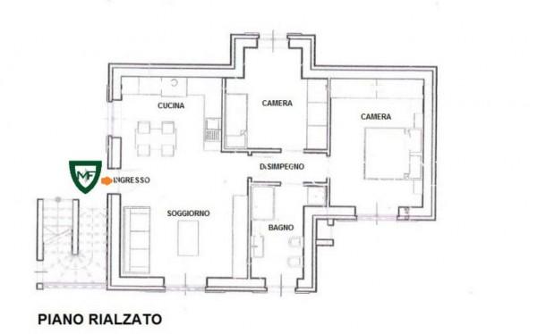 Appartamento in vendita a Induno Olona, Con giardino, 108 mq - Foto 3
