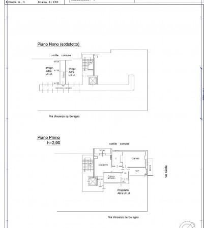 Appartamento in vendita a Milano, Affori Fn, Con giardino, 70 mq - Foto 2