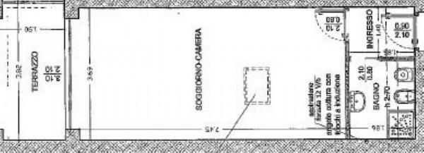 Appartamento in vendita a Milano, Viale Tibaldi, Con giardino, 45 mq - Foto 5