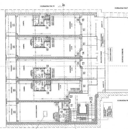 Appartamento in vendita a Milano, Viale Tibaldi, Con giardino, 45 mq - Foto 4
