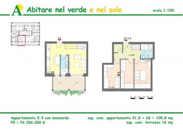 Appartamento in vendita a Agrate Brianza, Via Vismara, 109 mq - Foto 2