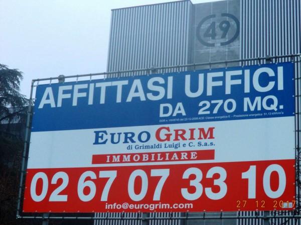 Ufficio in affitto a Milano, Trezzano Sul Naviglio, 403 mq - Foto 2
