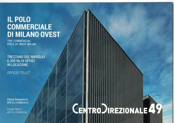 Ufficio in affitto a Milano, Trezzano Sul Naviglio, 403 mq