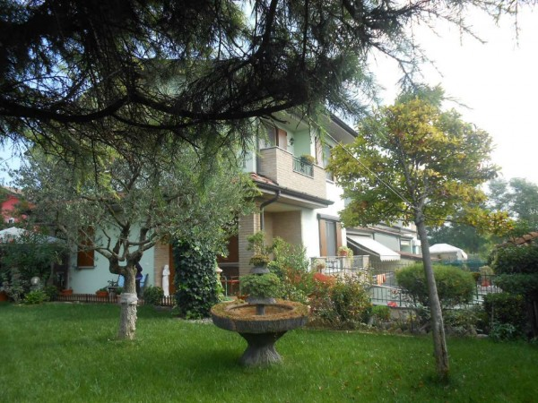 Villa in vendita a Sergnano, Residenziale, Con giardino, 213 mq - Foto 35