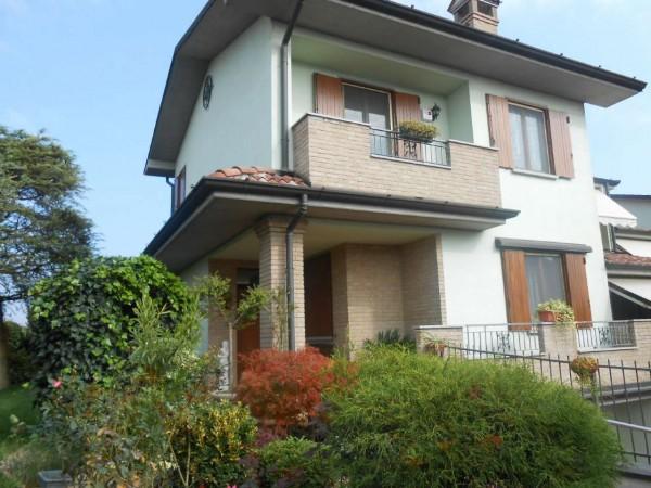 Villa in vendita a Sergnano, Residenziale, Con giardino, 213 mq - Foto 1