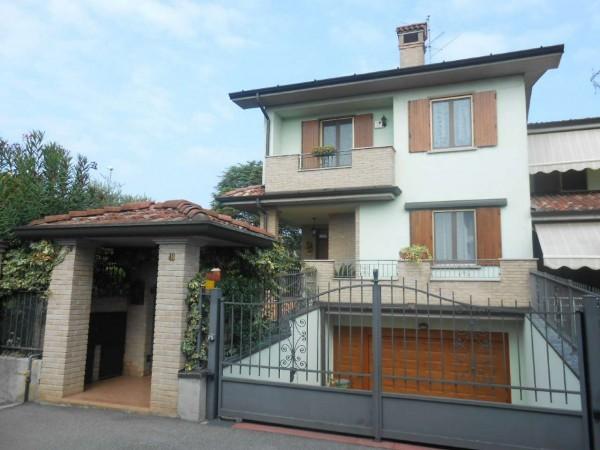 Villa in vendita a Sergnano, Residenziale, Con giardino, 213 mq - Foto 4
