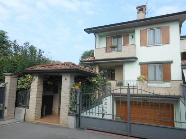 Villa in vendita a Sergnano, Residenziale, Con giardino, 213 mq - Foto 3
