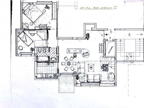 Appartamento in vendita a Roma, Nuovo Salario, Con giardino, 90 mq - Foto 9