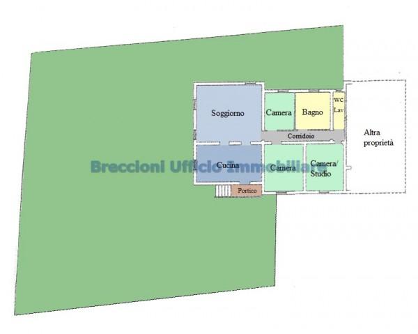 Casa indipendente in vendita a Campello sul Clitunno, Centrale, Con giardino, 150 mq - Foto 7