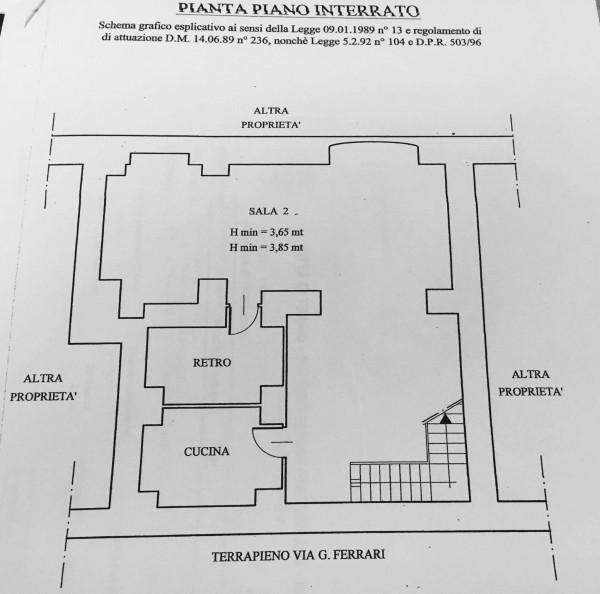 Locale Commerciale  in vendita a Torino, Università Palazzo Nuovo, 220 mq - Foto 27
