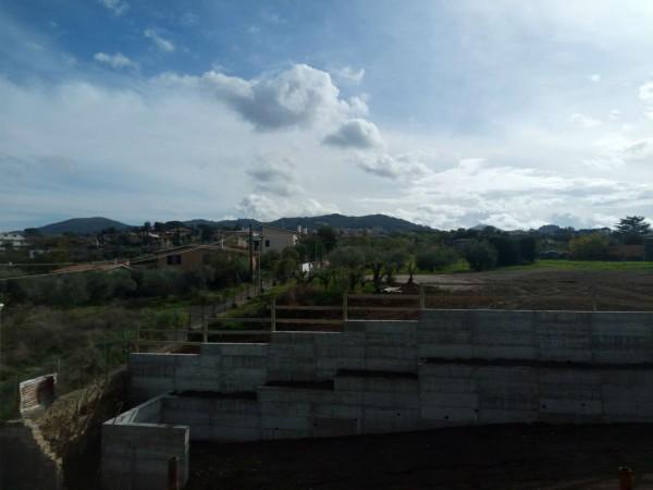 Appartamento in vendita a Frascati, Macchia Dello Sterparo, Con giardino, 130 mq - Foto 35