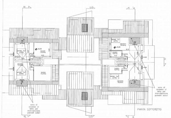 Appartamento in vendita a Frascati, Macchia Dello Sterparo, Con giardino, 130 mq - Foto 9
