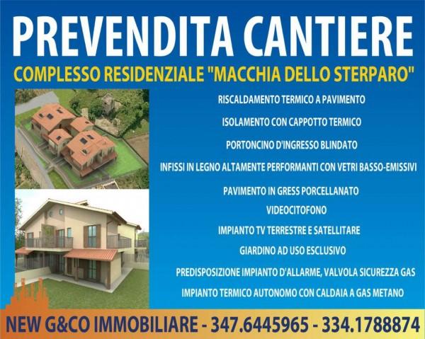 Appartamento in vendita a Frascati, Macchia Dello Sterparo, Con giardino, 130 mq - Foto 1